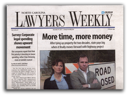 More Time, More Money - North Carolina Land Condemnation and Eminent Domain Lawyer